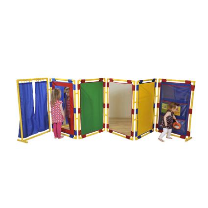 6 Rectangular Activity Panels – Large