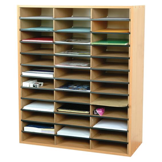 36 Section Literature Organiser