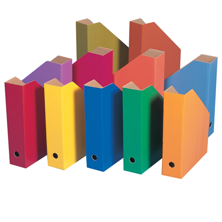 Colour Filing Boxes – Curriculum Colours