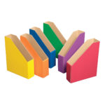 Colour Filing Boxes – Primary Colour