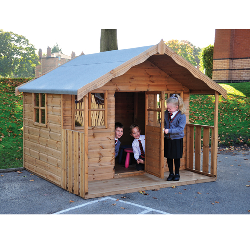 Children's Cottage Playhouse WITH Installation