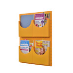 A4 Filapocket X4 Pockets – Yellow