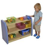 Safespace Series Toddler 2 Level Storage Cabinet