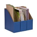 A4 Library Boxes – Blue