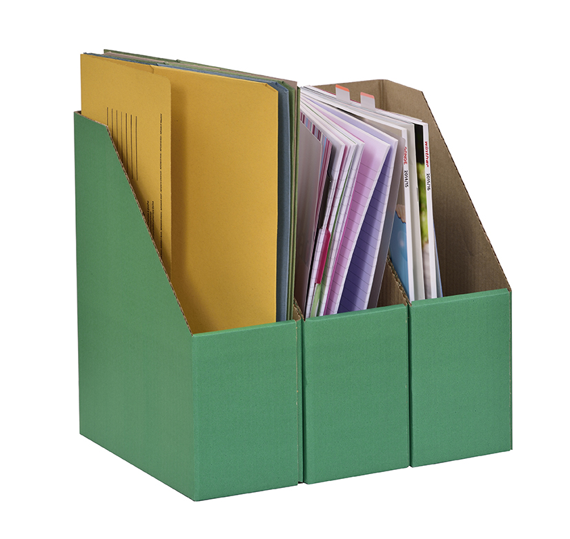 A4 Library Boxes – Green
