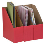 A4 Library Boxes – Red