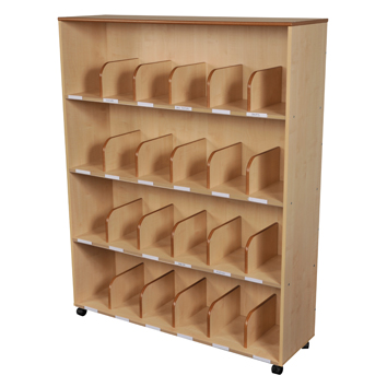 Maple Adult Bookcase
