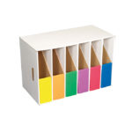 Lever Arch Filing Module C/W 6 Astd Filing Boxes