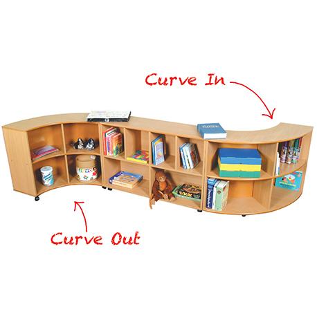 Quarter Round Unit – Curve Out