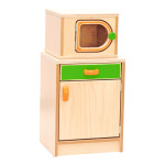Premium Cupboard with Microwave