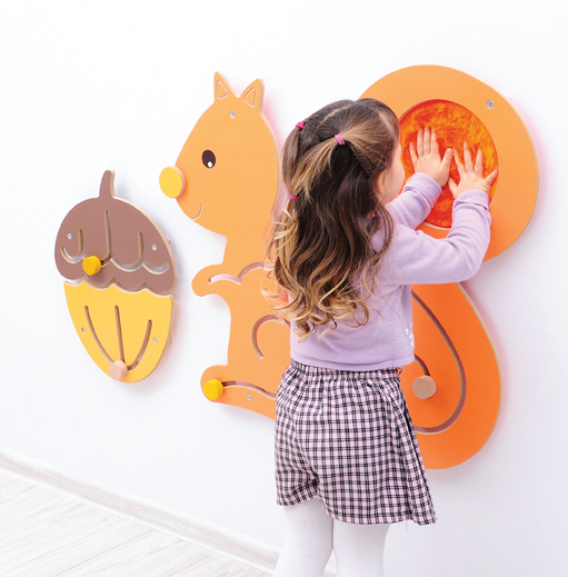 Squirrel and Nut Sensory Panel