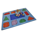 *Special Offer* 3D Geometric Shapes Rug