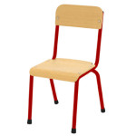 Milan Chair 380mm – Red
