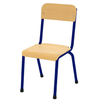 Milan Chair 380mm – Blue