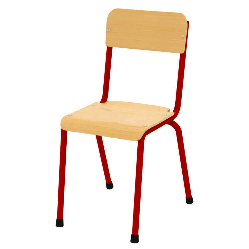 Milan Chair 460mm – Red