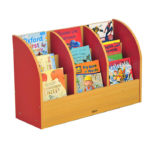 Milan 3 Tier Book Stand – Red