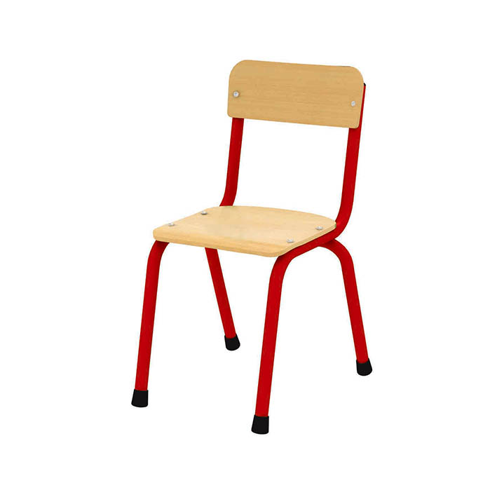 Milan Chair 350mm – Red