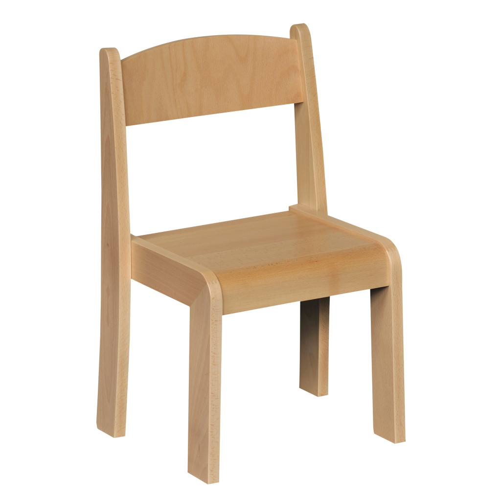 Stackable Chair Beech H260mm
