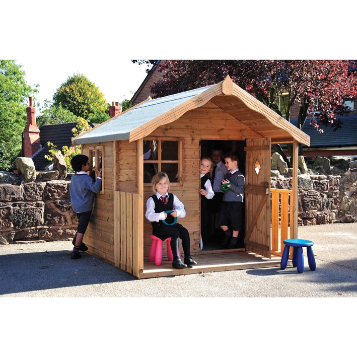 Children's Den Playhouse WITH Installation