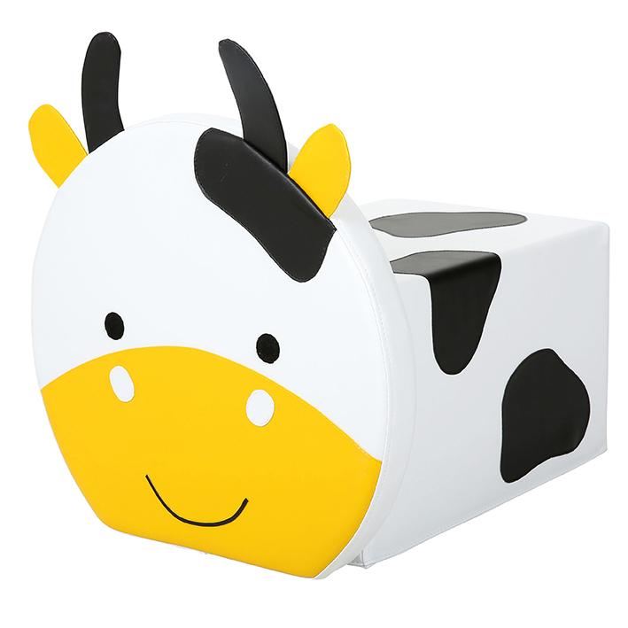 Cow Pouffe