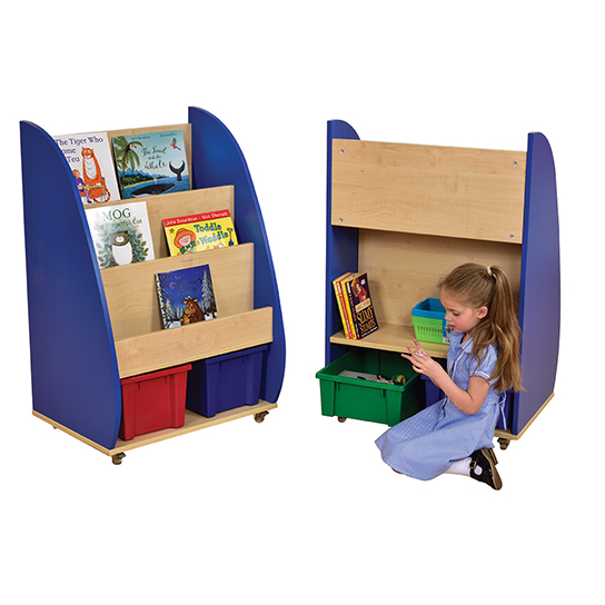 Demi Bookcase Blue
