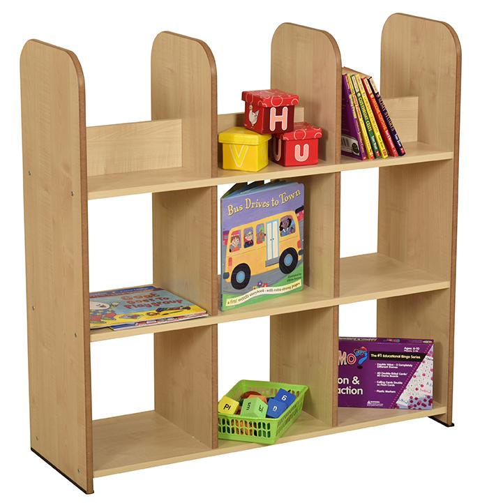 Maple Large Book Box Unit