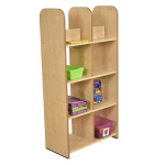 Maple Modular Book Box Unit