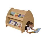 Maple Crawl Through Bookcase