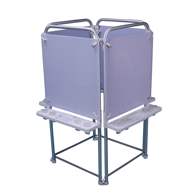 4 Sided Easel Set (with 4 Dry Wipe Boards)