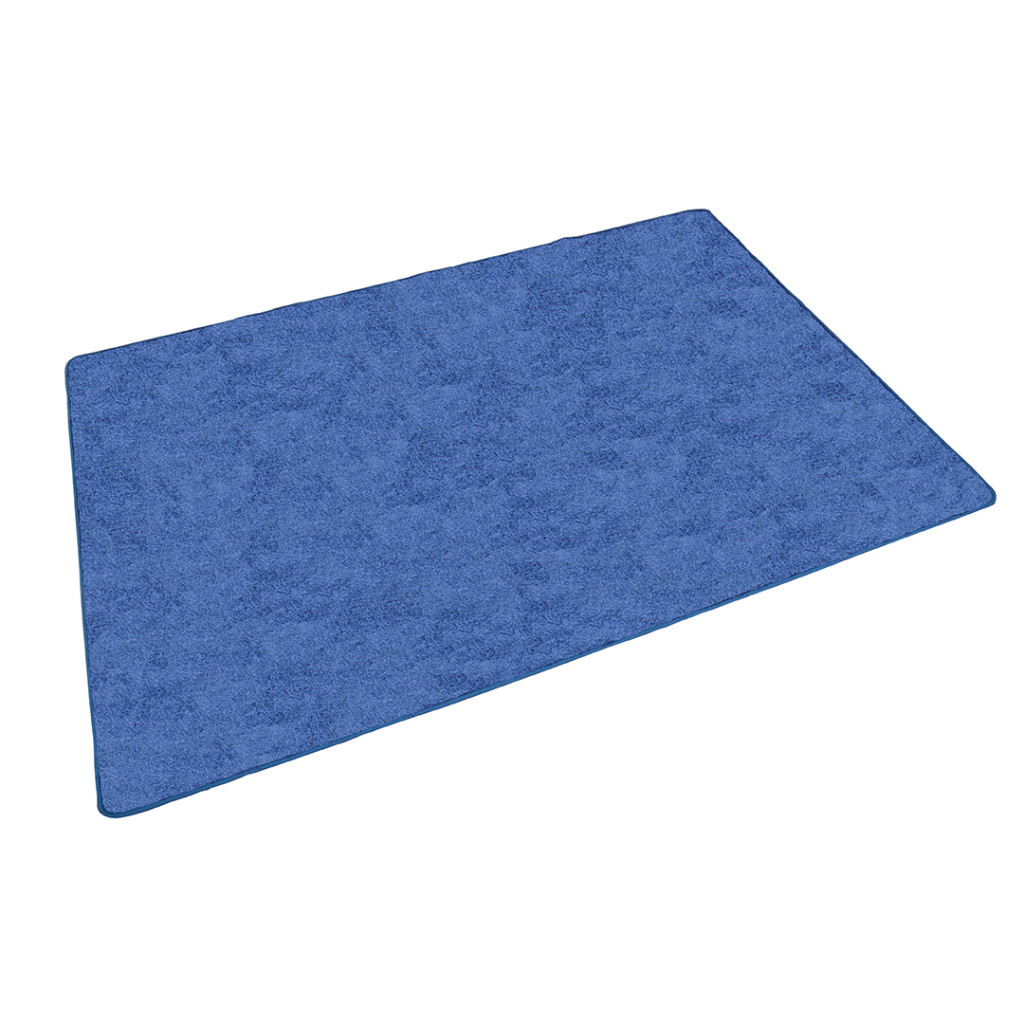 Rectangle Rug – Blue