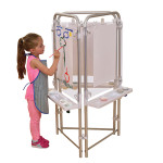 3 Sided Easel Set (with 3 Clear Boards)
