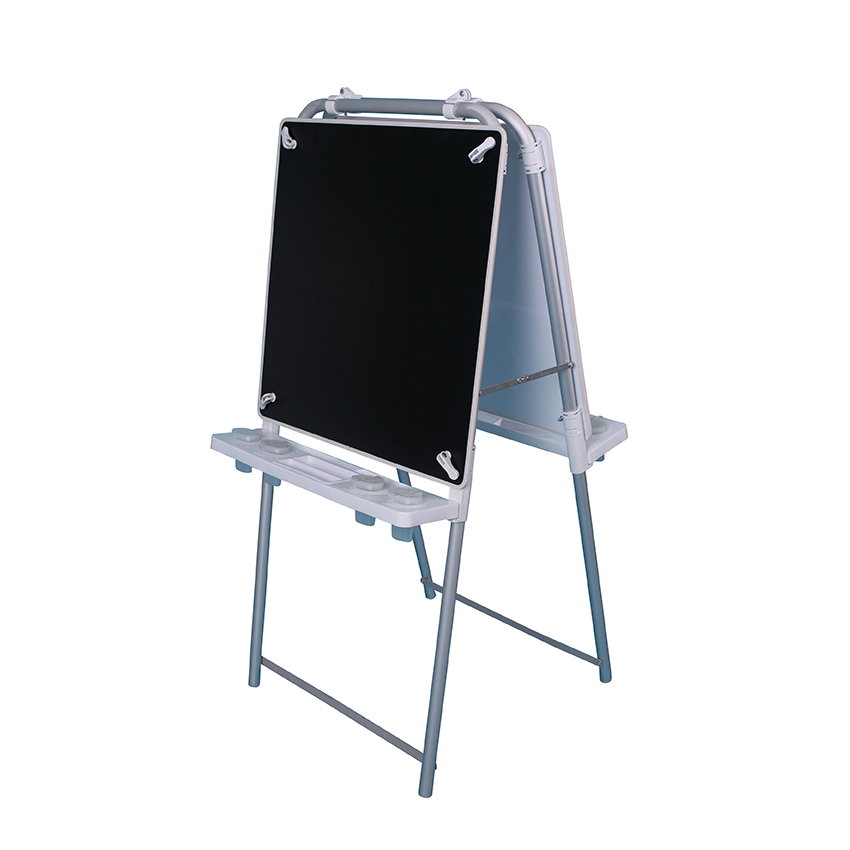 2 Sided Easel Set (with 2 Magnetic Chalkboards)