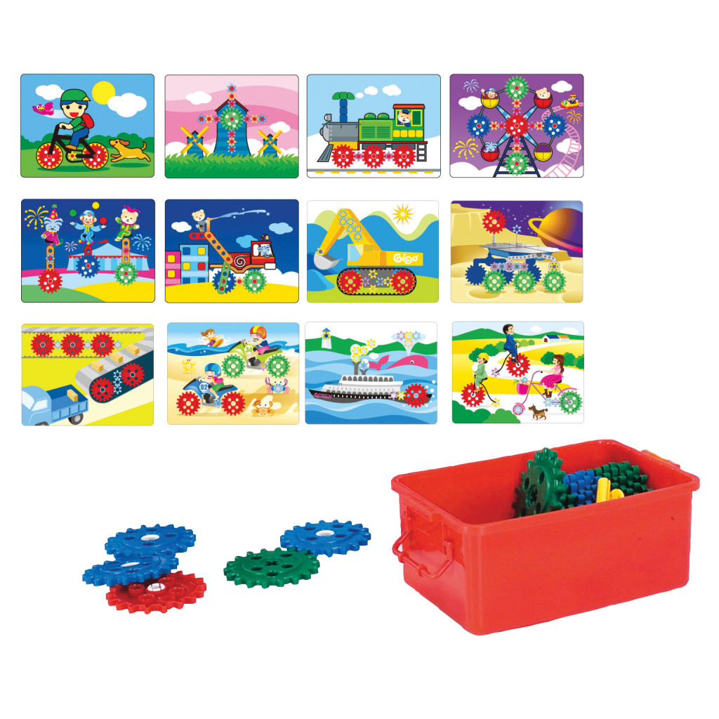 Learning Board Set and Stand with 3 Kits