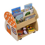 Mushroom House Book Storage