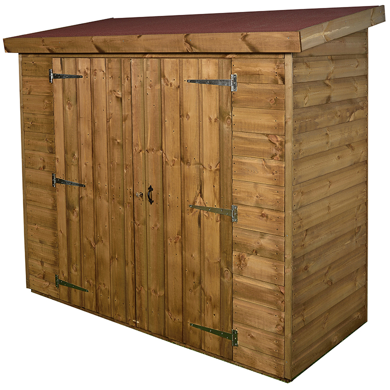 Narrow Storage Shed (With Installation)
