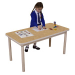 Quiet Height Adjustable Table – Rectangle (1200 x 600mm)