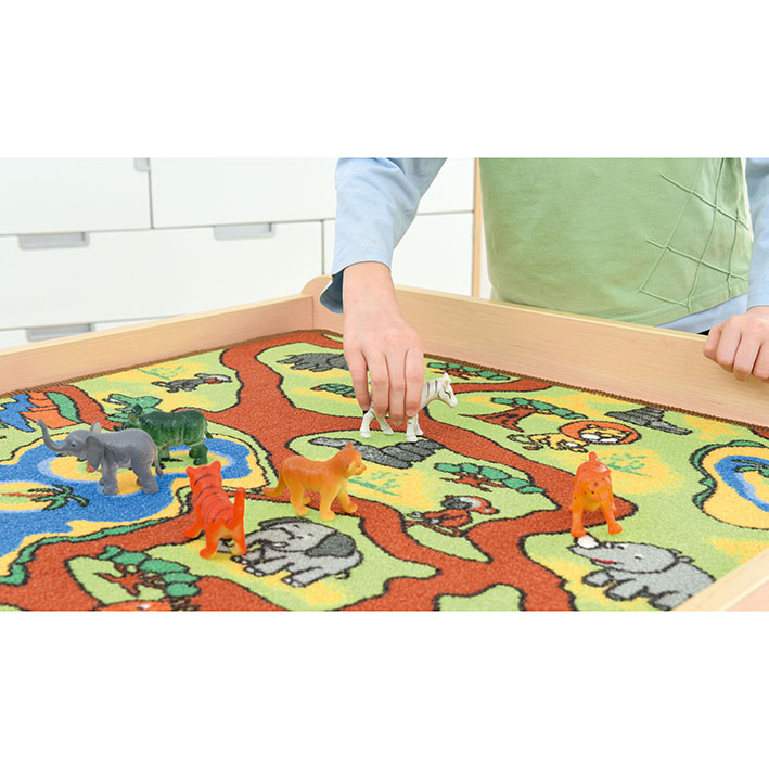 Square Play Rug – Jungle