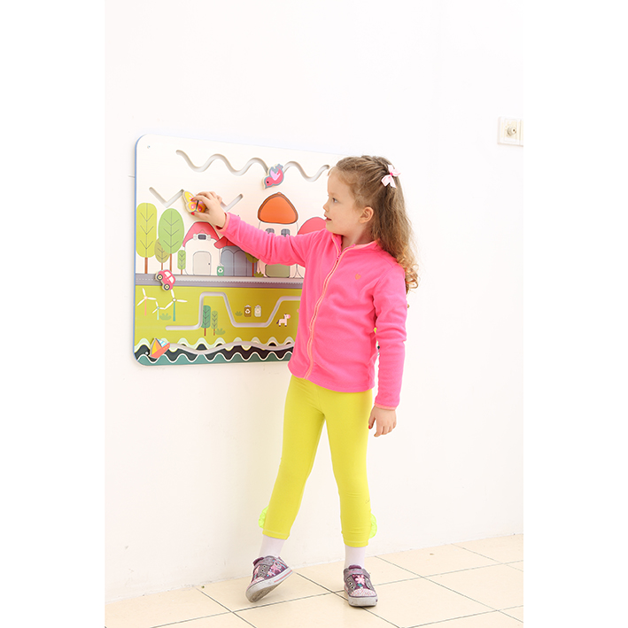 Children's Wallboard – City Traffic