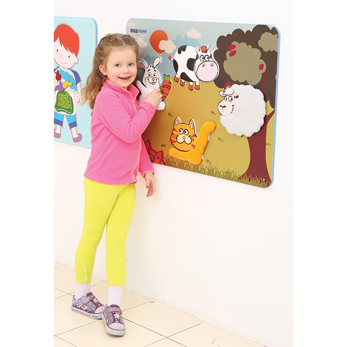 Children's Wallboard – Animal Textures
