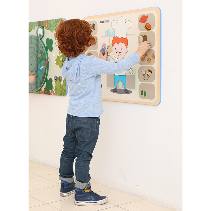 Children's Wallboard – Match The Menu