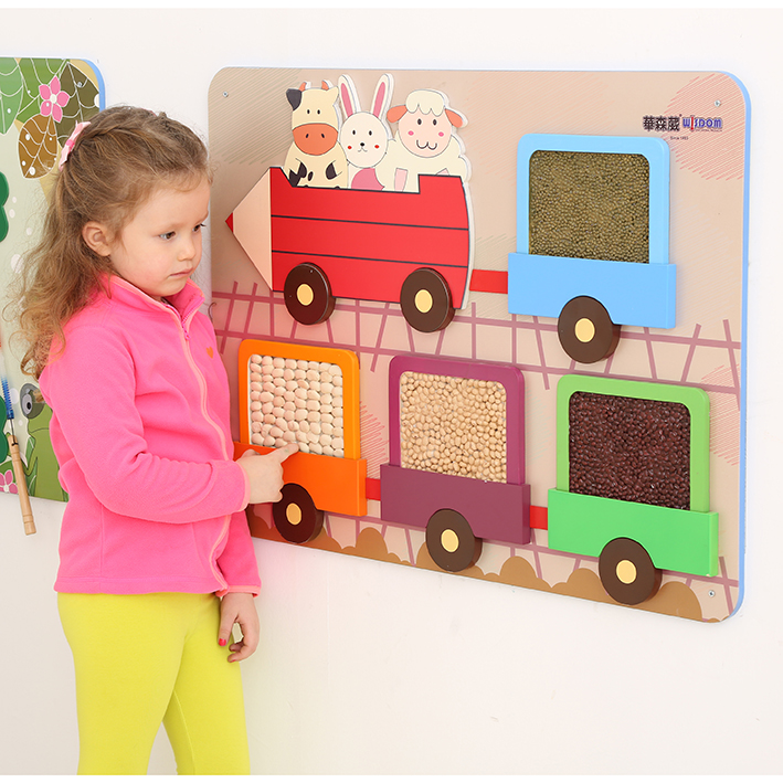 Children's Wallboard – Tactile Train