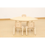 Elegant Height Adjustable Table – Fan (1270 x 680mm)