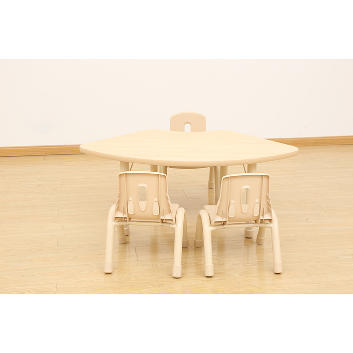 Elegant Height Adjustable Table – Fan (1270 x 680mm)