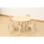 Elegant Height Adjustable Table – Round (800mm)