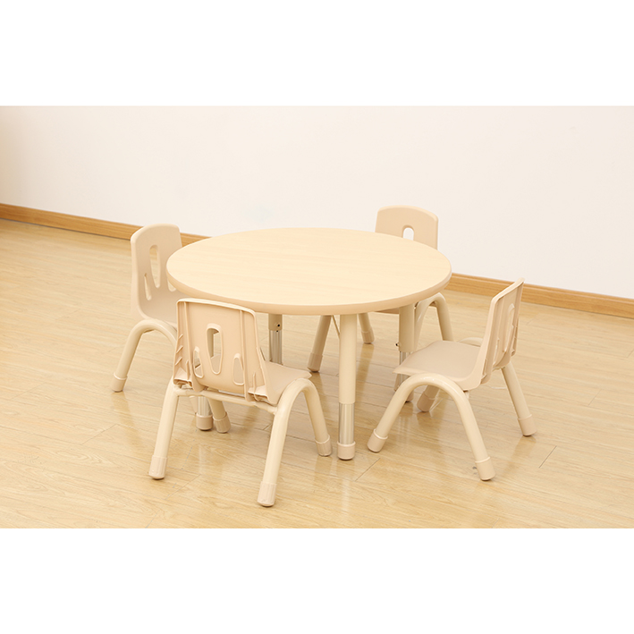 Elegant Height Adjustable Table – Round (800mm)
