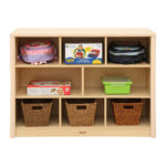 Elegant 8 Compartment Cabinet Storage