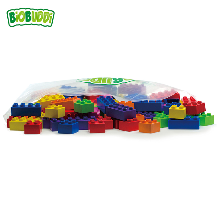 BiOBUDDI Bag Set – 100 Blocks Assortment
