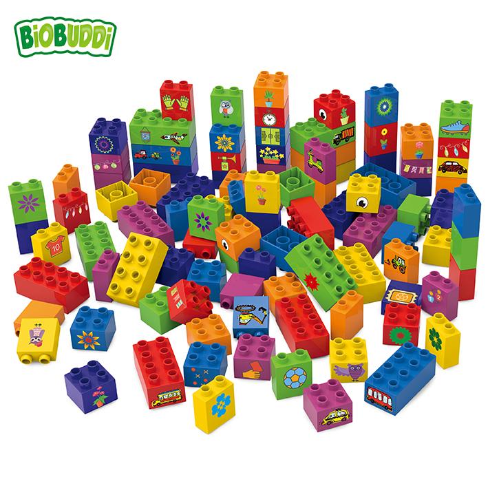 BiOBUDDi Learning to Build – 100 Building Blocks