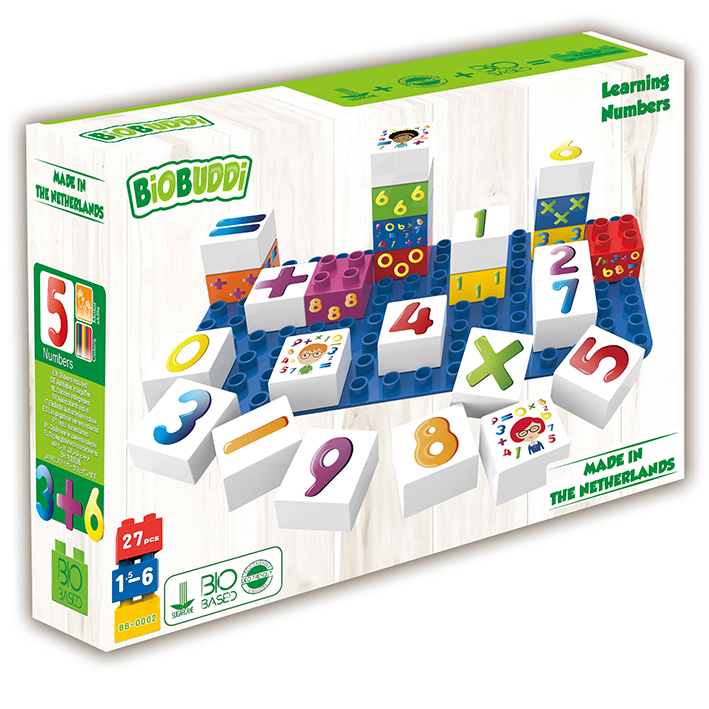 *Special Offer* BiOBUDDi Learning Numbers Blocks