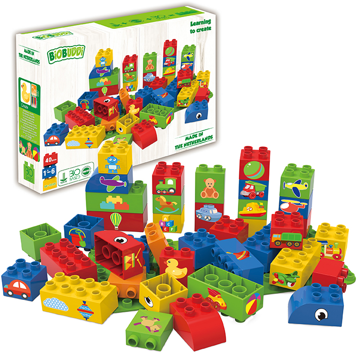 *Special Offer* BiOBUDDi Learning to Create Toys & Transport Blocks